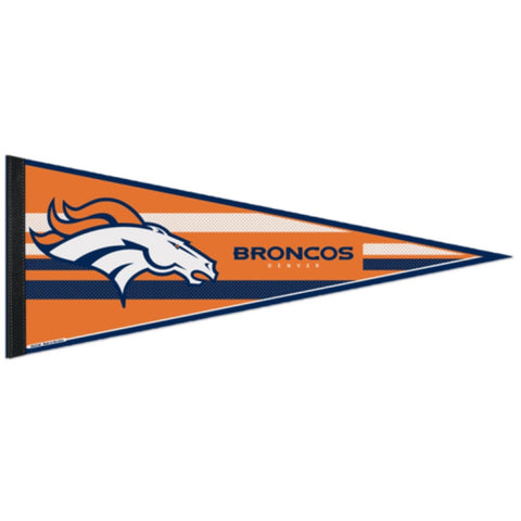 Denver Broncos Pennant NFL Football Full Size (2-PACK) SALE!!