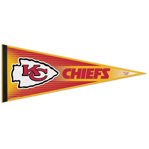 Kansas City Chiefs Pennant NFL Football Full Size (2-PACK) SALE!!