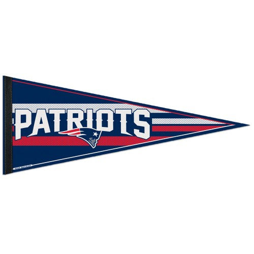 New England Patriots Pennant NFL Football Full Size (2-PACK) SALE!!