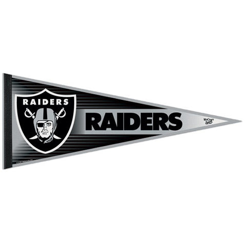 Oakland Raiders Pennant NFL Football Full Size (2-PACK) SALE!!