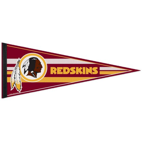Washington Redskins Pennant NFL Football Full Size (2-PACK) SALE!!