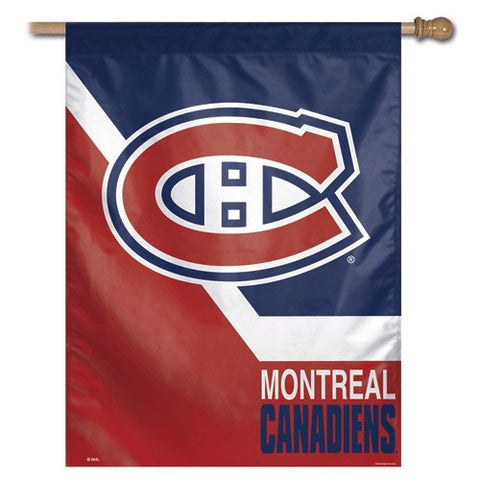Montreal Canadiens Vertical Flag Banner
