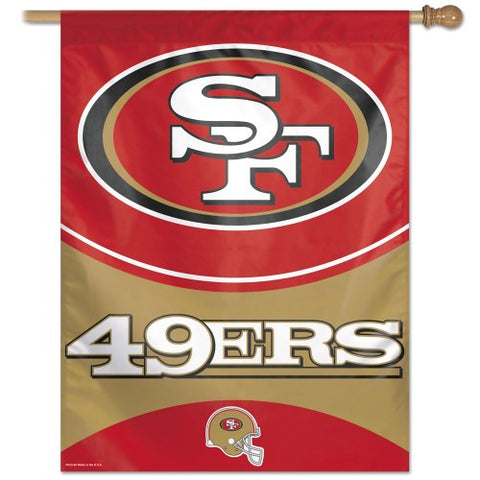 San Francisco 49ers Vertical Flag Banner