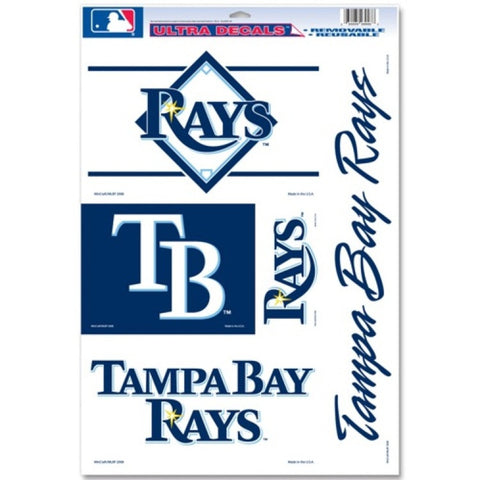 Tampa Bay Rays Decals Window Clings