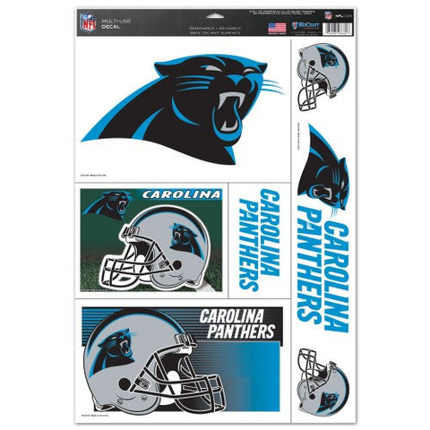 Carolina Panthers Decals Window Clings