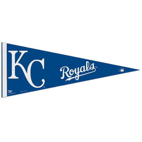 Kansas City Royals Pennant MLB Baseball Full Size (2-Pack)