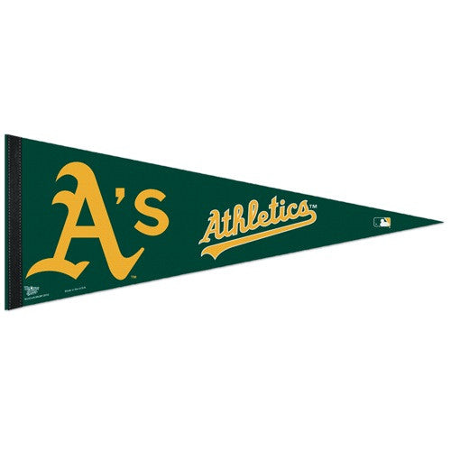 Oakland Athletics Pennant MLB Baseball Full Size