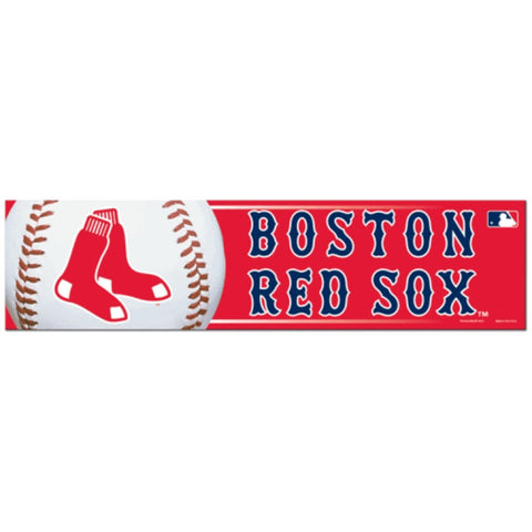 Boston Red Sox Bumper Sticker (2-Pack)