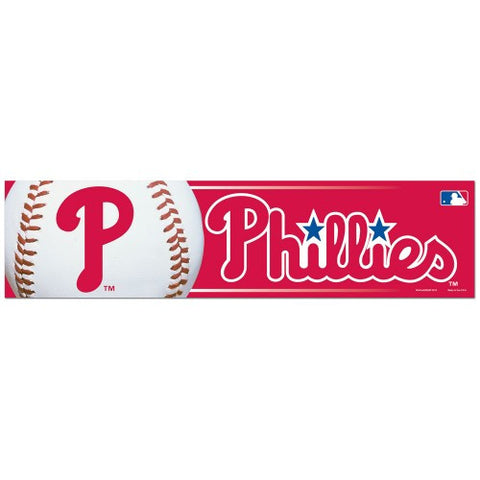 Philadelphia Phillies Bumper Sticker (2-Pack)