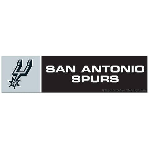 San Antonio Spurs Bumper Sticker (2-Pack)