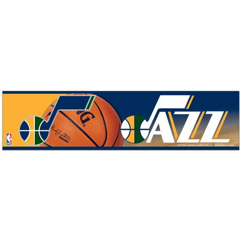 Utah Jazz Bumper Sticker (2-Pack)