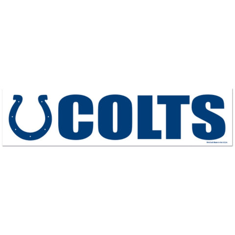 Indianapolis Colts Bumper Sticker (2-Pack)