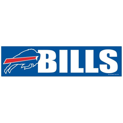 Buffalo Bills Bumper Sticker (2-Pack)