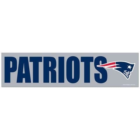 New England Patriots Bumper Sticker (2-Pack)