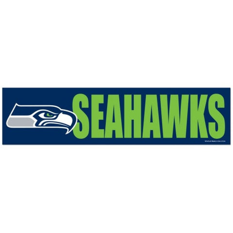 Seattle Seahawks Bumper Sticker (2-Pack)