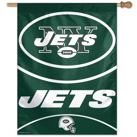 New York Jets Vertical Flag Banner