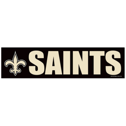 New Orleans Saints Bumper Sticker (2-Pack)