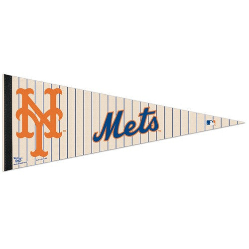 New York Mets Pennant MLB Baseball Full Size