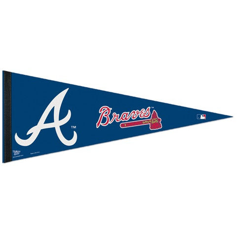 Atlanta Braves Pennant MLB Baseball Full Size (2-Pack)