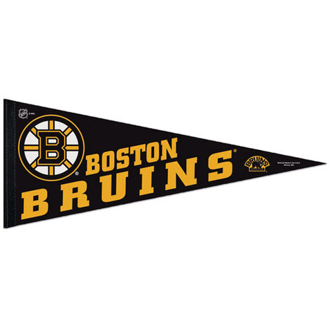 Boston Bruins Pennant NHL Hockey Full Size (2-Pack)