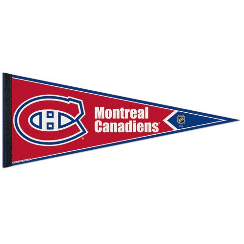 Montreal Canadiens Pennant NHL Hockey Full Size
