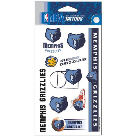 Memphis Grizzlies Temporary Tattoo