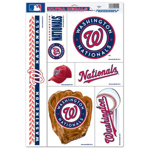 Washington Nationals Decals Window Clings