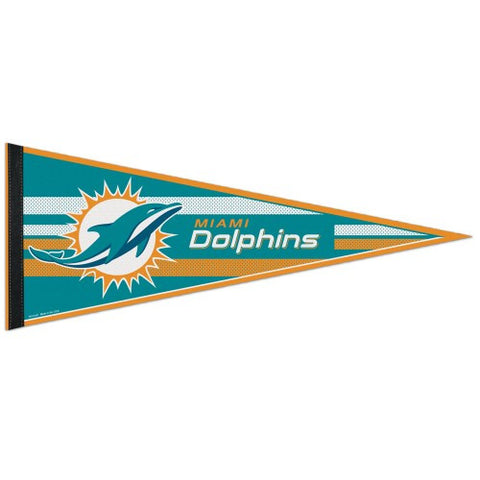 Miami Dolphins Pennant NFL Football Full Size (2-PACK) SALE!!