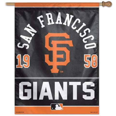 San Francisco Giants Vertical Flag Banner