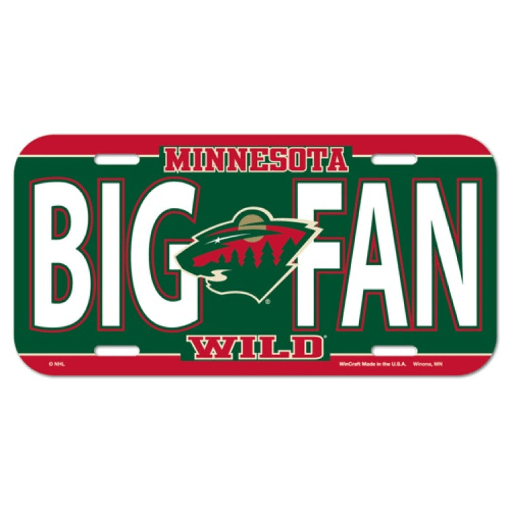 Minnesota Wild License Plate