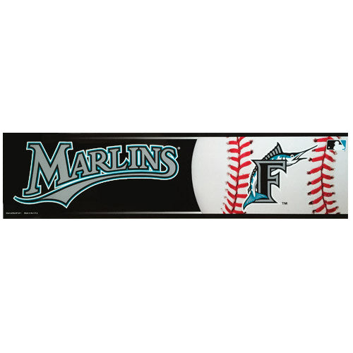 Miami Marlins Bumper Sticker (2-Pack)