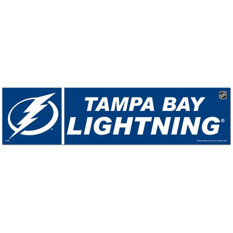 Tampa Bay Lightning Bumper Sticker (2-Pack)
