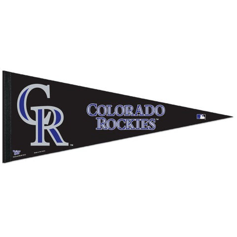 Colorado Rockies Pennant MLB Baseball Full Size (2-Pack)