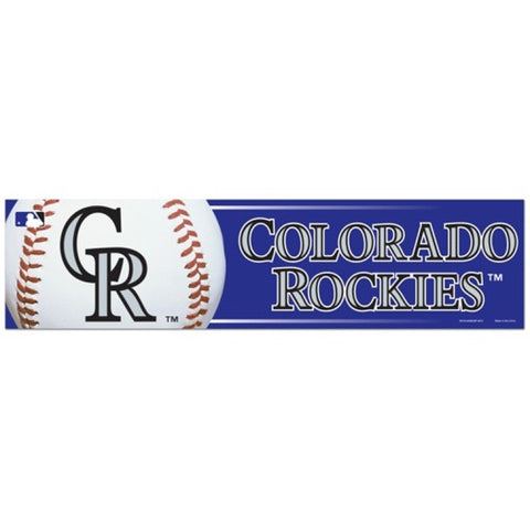 Colorado Rockies Bumper Sticker (2-Pack)