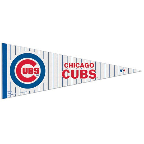 Chicago Cubs Pennant MLB Baseball Full Size (2-Pack)