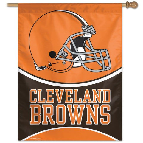 Cleveland Browns Vertical Flag Banner
