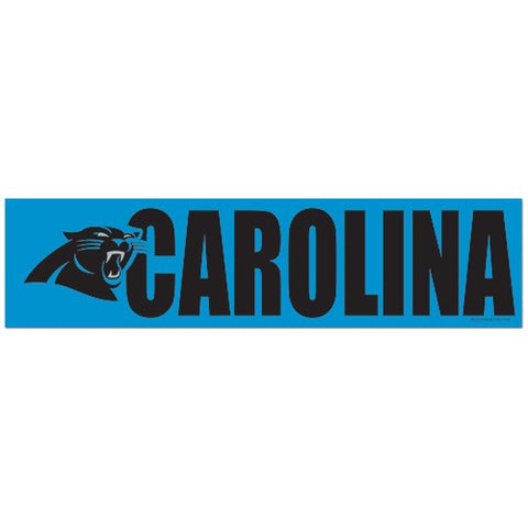 Carolina Panthers Bumper Sticker (2-Pack)