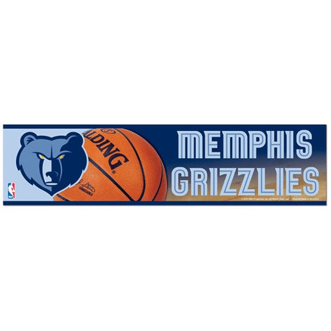 Memphis Grizzlies Bumper Sticker (2-Pack)