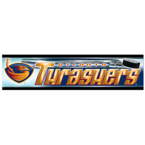 Atlanta Thrashers Bumper Sticker (2-Pack)