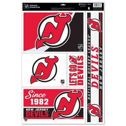 New Jersey Devils Decals Window Clings