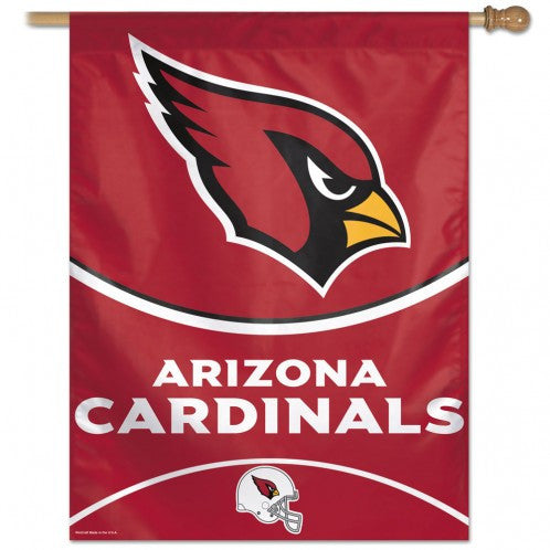 Arizona Cardinals Vertical Flag Banner