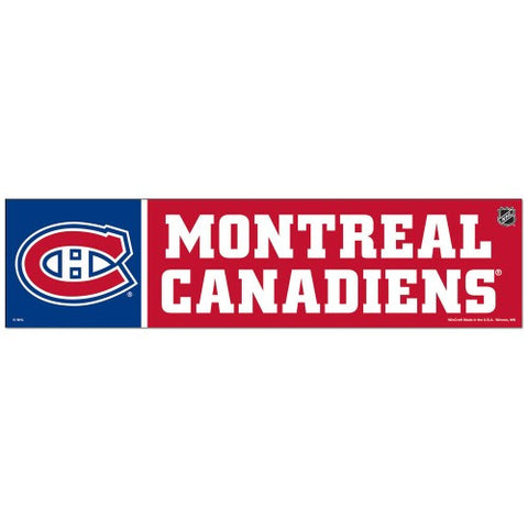 Montreal Canadiens Bumper Sticker (2-Pack)