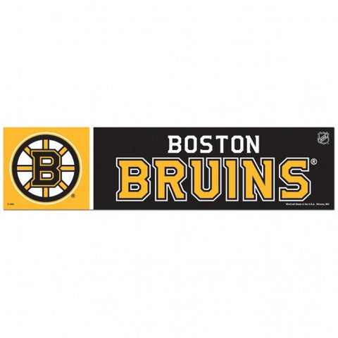 Boston Bruins Bumper Sticker (2-Pack)