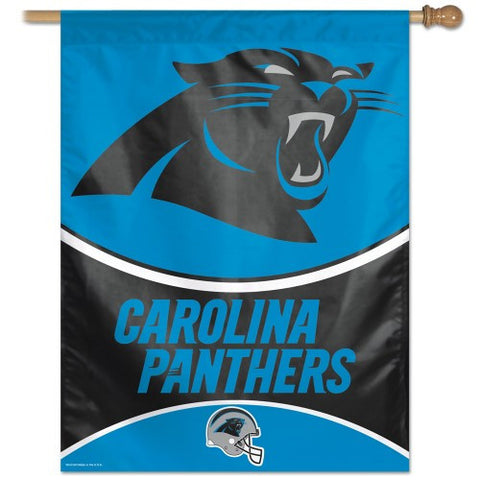 Carolina Panthers Vertical Flag Banner