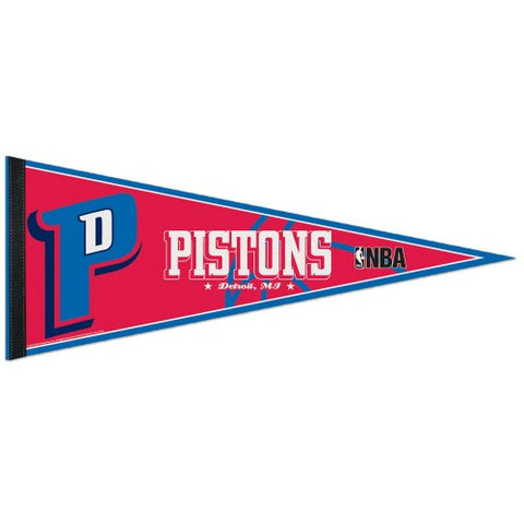 Detroit Pistons Pennant NBA Basketball Full Size