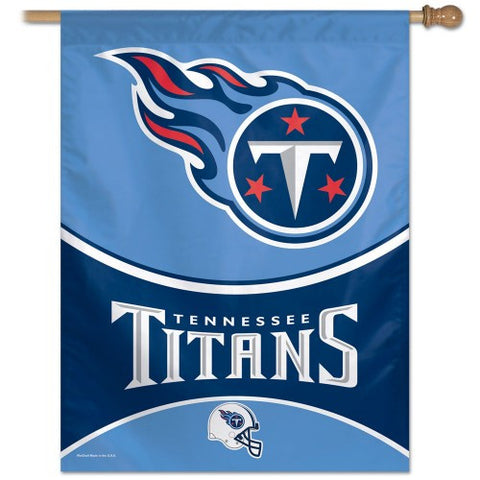 Tennessee Titans Vertical Flag Banner