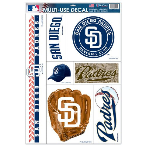 San Diego Padres Decals Window Clings