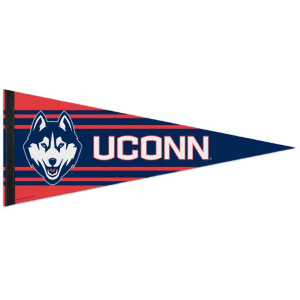 University of Connecticut Huskies Premium Felt Pennant