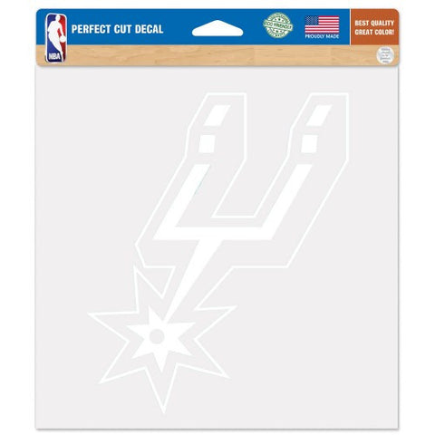 San Antonio Spurs Car Window Sticker Decal 8x8 Inches