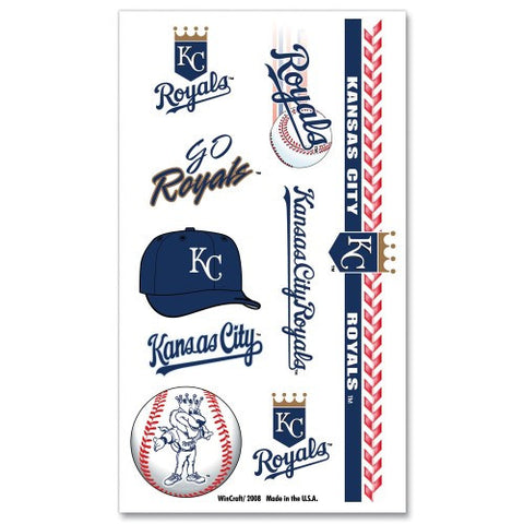 Kansas City Royals Temporary Tattoo